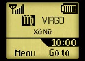 Logo mạng Xử nữ - Virgo
