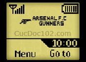 Logo mạng Arsenal FC