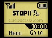 Logo mạng Stop hand