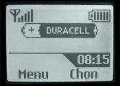 Logo mạng Duracell