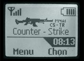 Logo mạng Counter Strike M4A1