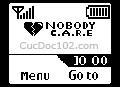 Logo mạng Nobody Care, tự làm logo mạng, logo mạng theo tên, tạo logo mạng