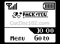 Logo mạng Fack You, tự làm logo mạng, logo mạng theo tên, tạo logo mạng