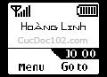Logo mạng Tên Hoàng Linh