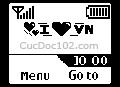 Logo mạng I love Vn